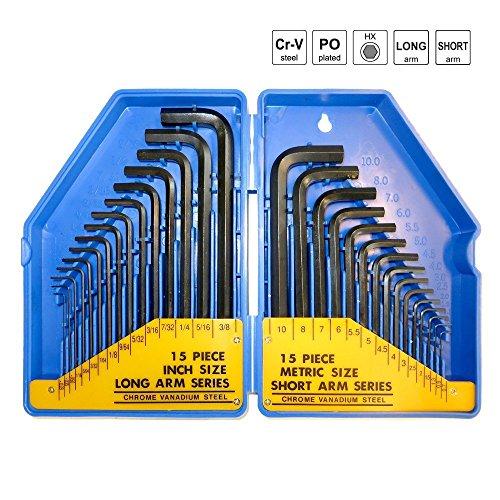 sr-juego-de-llaves-allen-hexagonales-set-30-piezas-hx-07-a-10-mm-metrico-0028-mm-y-de-3-8-pulgadas-e