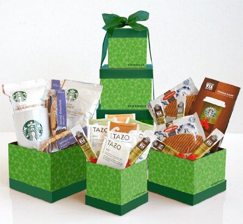 California Delicious Starbucks Signature Gift Tower