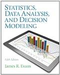 Statistics, Data Analysis, and Decisi...