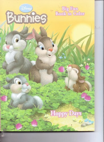 Disney Bunnies Big Fun Book to Color (Cover art Varies) - 1