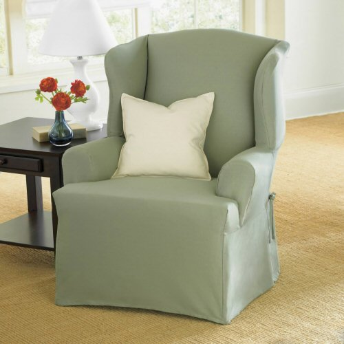 Wing Chair Slipcovers July 2011 If Finding The Best