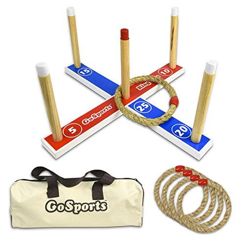 GoSports-Premium-Wooden-Ring-Toss-Game-with-Carrying-Case-Great-for-all-Ages