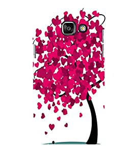 printtech Heart Tree Back Case Cover for Samsung Galaxy A7 2016 Edition