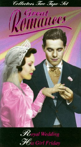 Great Romances: Royal Wedding & His Girl [VHS]