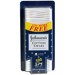 Johnson 39 S Cotton Swabs Bonus 500 Swabs Beauty
