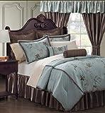 EverRouge Amaryllis 24-Piece Room in a Bag, Queen
