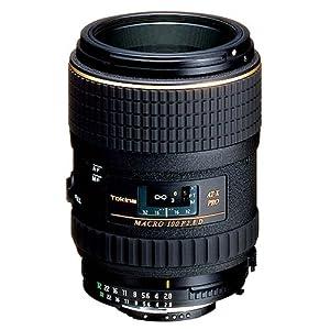 Tokina AT-X 100mm f/2.8 PRO D Macro Lens for Nikon Auto Focus Digital and Film Cameras - Fixed - International Version (No Warranty)