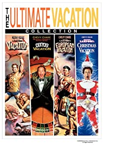 The Ultimate Vacation Collection National Lampoons Vacation Vegas Vacation European Vacation Christmas Vacation by Warner Home Video