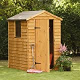 6 x 4 Shed Republic Value Overlap Premium Apex Shed