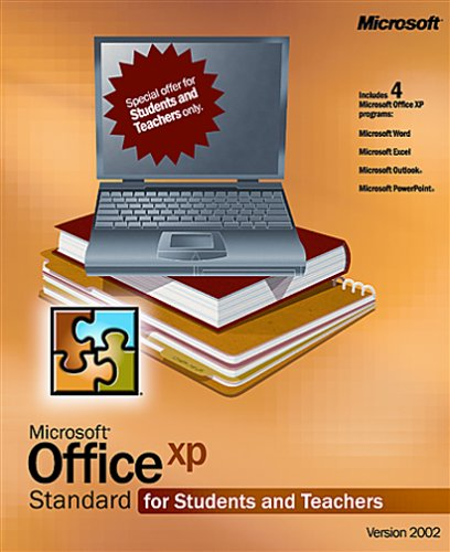 Microsoft Office Xp Standard For Students And Teachers [Old Version]