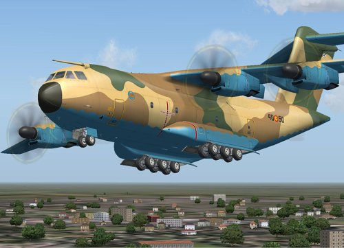 A400M Airlifter - Dodatek za Flight Simulator 2004 screenshot
