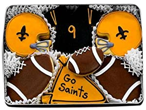 Saints Decorated Sugar Cookie Gift Tin