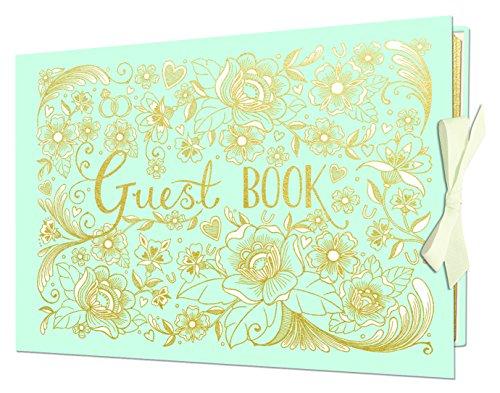 wedding-guest-book-duck-egg-blue-with-ribbon-tie-by-rachel-ellen