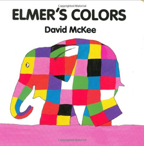 Elmer'S Colors (Board Book) front-996323