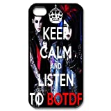 D-7 Music Band Blood on the Dance Floor Print Black Case With Hard Shell Cover for Apple iPhone 4/4S