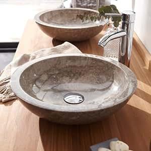 Vasque en marbre Calypso Grey Tikamoon