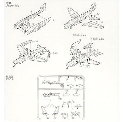 1/350 EA-6B Prowler 6/Set TSM6237