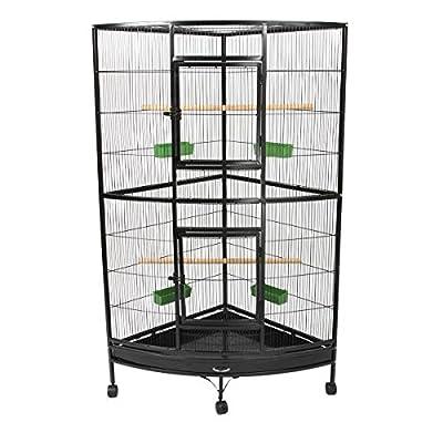 Parrot Corner Cage