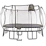 Springfree Trampoline - 13ft Jumbo Square With Basketball Hoop and Ladder (Tamaño: 13ft Jumbo)
