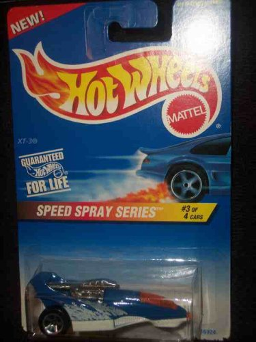 Speed Spray Series #3 XT-3 #551 Collectible Collector Car Mattel Hot Wheels - 1
