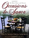img - for By Delta Sigma Theta Occasions to Savor (1st First Edition) [Hardcover] book / textbook / text book