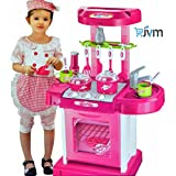 Kids Luxury Battery Operated Kitchen Super Set Toy With Light And Sound…