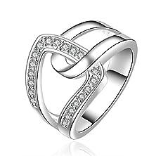 buy Sunifsnow Beautifully Neutral Popular Classic And Elegant Interlocking Ring 8