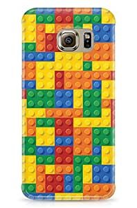 GeekCases Puzzle Bricks Back Case for Samsung Galaxy S6 Edge