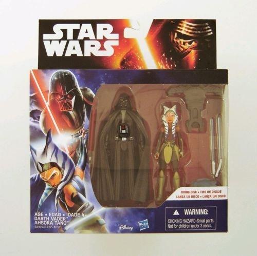 "Hasbro Star Wars Rebels 3.75"" Figure 2Pk Space Mission Darth Vader & Ahsoka Tano"
