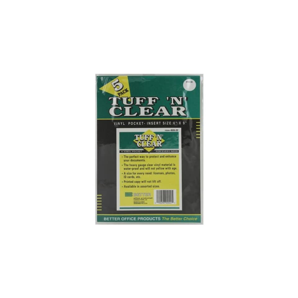 Tuff N Clear Inserts Case Pack 60 on PopScreen