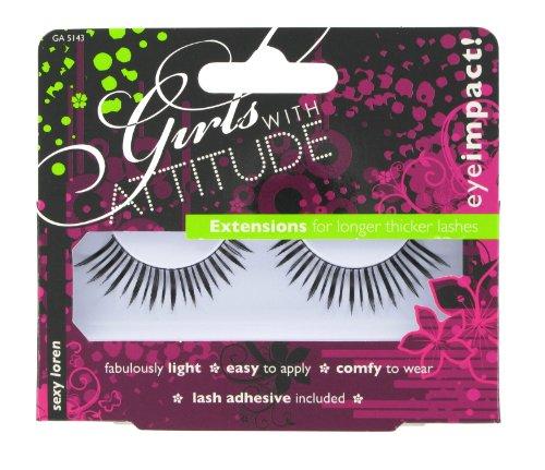 Girls With Attitude Sexy Loren False Eye Lashes