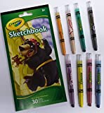 Crayola 8 Twistables Mini Crayons Draw 'n Sketch Colour Set