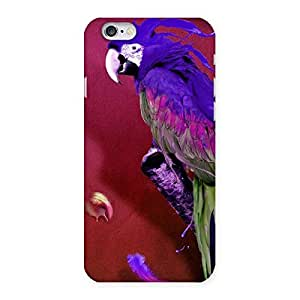 Impressive Magic Parrot Multicolor Back Case Cover for iPhone 6 6S