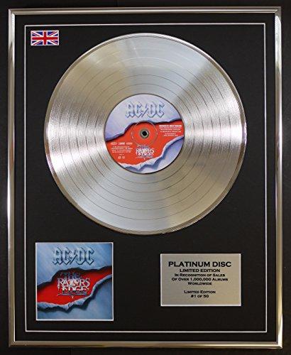 AC DC/LTD Edizione CD platinum disc/THE RAZORS EDGE