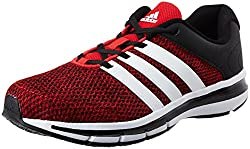 adidas Mens Magnus 4.0 M Scarle, Ftwwht and Cblack Running Shoes - 7 UK/India (40.67 EU)