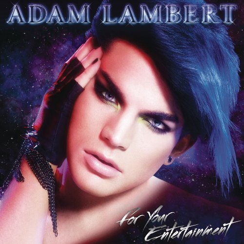 Original album cover of For Your Entertainment by Adam Lambert