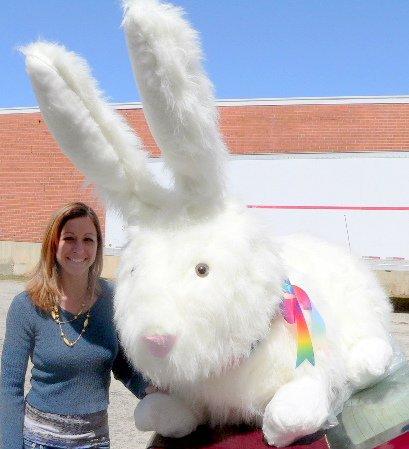 Enormous Stuffed Bunny