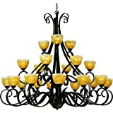 Shop For Maxim Lighting 13417AIOI 2 Barcelona ThreeTier Chandelier- Oil Discount