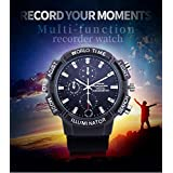 4K WiFi Camera HD Motion Detection Spy P2P Wrist Smart Watch Camera Hidden Spy Infrared High-end Camera for Male