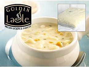 Knorr Frozen Boston Clam Chowder Soup - 8 lb pouch 4 per case