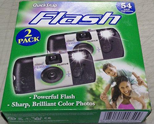 Fujifilm QuickSnap Flash 800 35 mm pour appareil photo à usage unique Lot de 54 total des expositions)