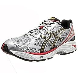 ASICS Men\'s Gel Foundation 8-4E Running Shoe,Lightning/Black/True Red,12.5 4E US