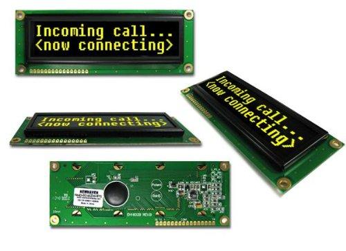 Oled Displays & Accessories Oled 2X16 Yellow 122.0 X 44.0 X 10