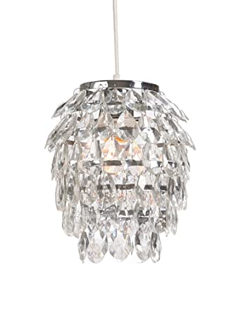 Light & Living, Lampe Chrystal Odilia Kristall Lampe: Amazon.de ...