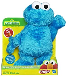 Sesame Street Squeeze-A-Song - Cookie Monster