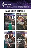 Harlequin Romantic Suspense May 2014 Bundle: Cavanaugh Undercover\Executive Protection\Traitorous Attraction\Latimers Law