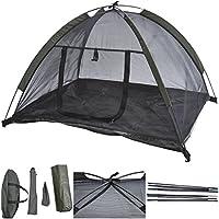 1Pcs Excellent Popular Pet Tent House Dog Mesh Camping Kennel Portable Cat Beach Shelter Color Black
