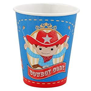 Click to buy Cowboy 9 oz. Cups (8) Party Suppliesfrom Amazon!