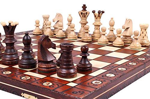The Jarilo - Unique Wood Chess Set, Pieces, Chessboard & Storage 0