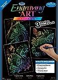 Royal and Langnickel Engraving Art 3 Design Value Pack, Rainbow